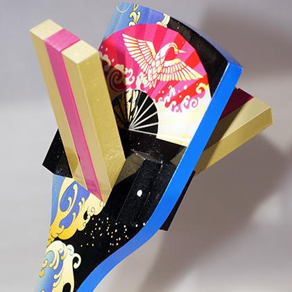 【ふるさと納税】【高知のよさこい文化】 色彩鳴子 オーリチ 1組 【地域のお礼の品・お祭り】