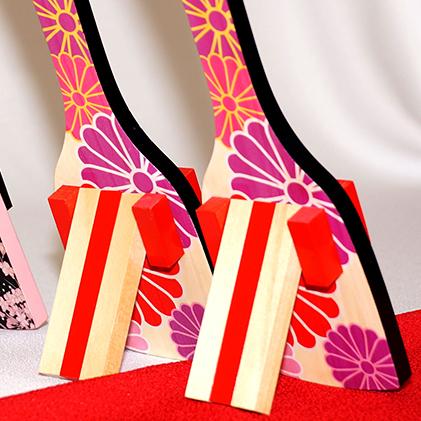 【ふるさと納税】【高知のよさこい文化】 色彩鳴子 カーマイン 1組 【地域のお礼の品・お祭り】