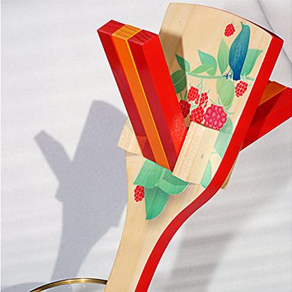 【ふるさと納税】【高知のよさこい文化】 色彩鳴子 シエル 1組 【地域のお礼の品・お祭り】