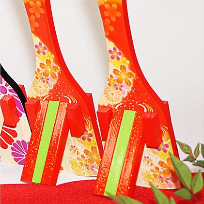 【ふるさと納税】【高知のよさこい文化】 色彩鳴子 ルビー 1組 【地域のお礼の品・お祭り】