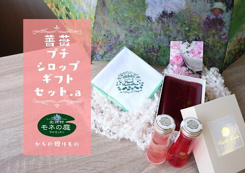 【ふるさと納税】薔薇プチシロップギフトセット.a/北川村モネの庭マルモッタン