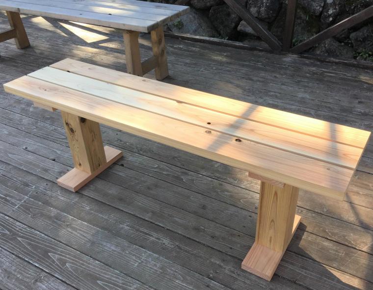 【ふるさと納税】木のベンチ, 銚子市:e1089ee2 --- officewill.xsrv.jp