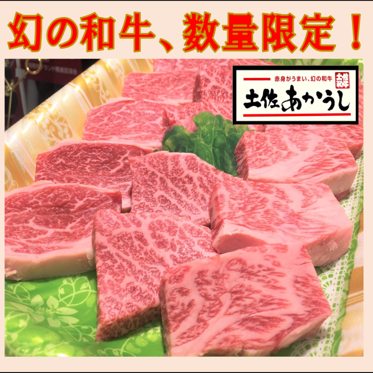 【ふるさと納税】土佐あかうしロース焼肉用 450g