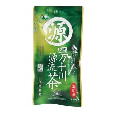 【ふるさと納税】C-6 四万十川源流棚田米と上級煎茶のセット