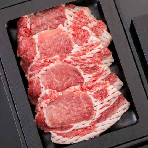 新入荷 流行 注文後の変更キャンセル返品 ふるさと納税 Qsn-98 専門店直送 ブランド豚 厚切り柔らかステーキ2種セット