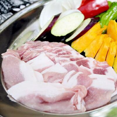 【ふるさと納税】Ahc-01 平野協同畜産の焼き肉用豚ロース1.1kg