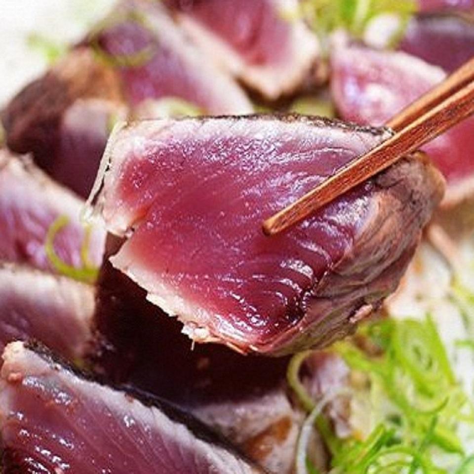 【ふるさと納税】[0993]「日もどり」カツオのタタキセット(藁焼き) (4~6節)約1kg
