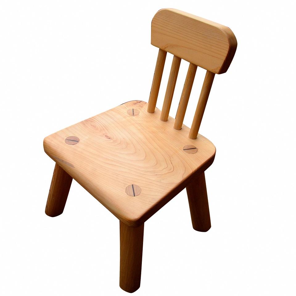 【ふるさと納税】[0474]土佐ひのきの子ども椅子