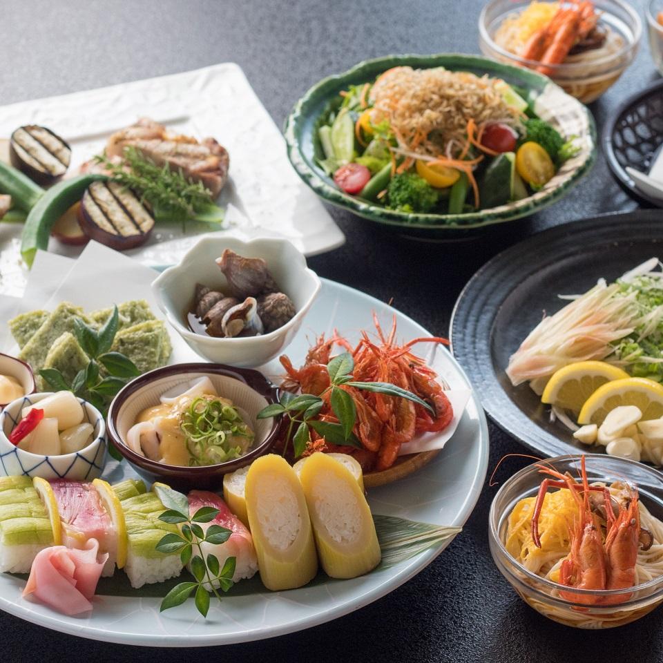 【ふるさと納税】[1062]黒潮町の食材を使った和食とイタリアン(2名様 1泊2食付)
