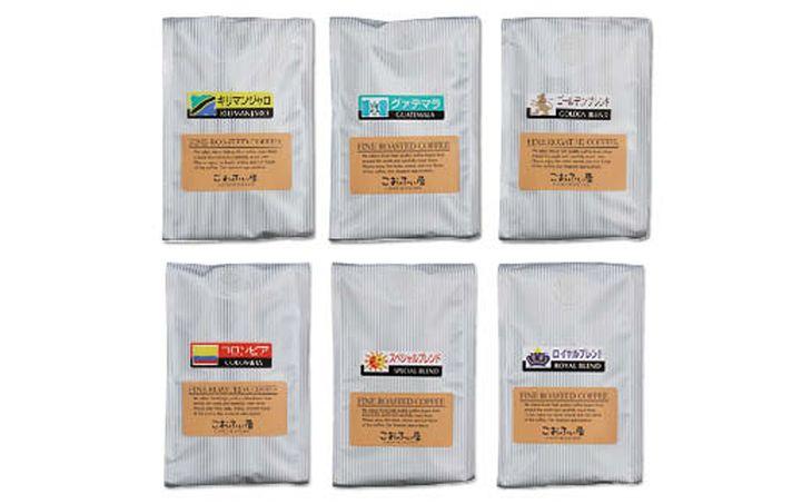 上質な生豆をじっくり丁寧に自家焙煎し、新鮮で美味しいコーヒーをお届けしております。ご注文頂いた時々の、店主おすすめ銘柄の中から選りすぐりの6種類をお贈りいたします。 【ふるさと納税】【こおふぃ屋】厳選自家焙煎コーヒー<粉>200g×6種 計1.2kg 6袋 銘柄おまかせ 珈琲 珈琲 粉タイプ カフェ 送料無料