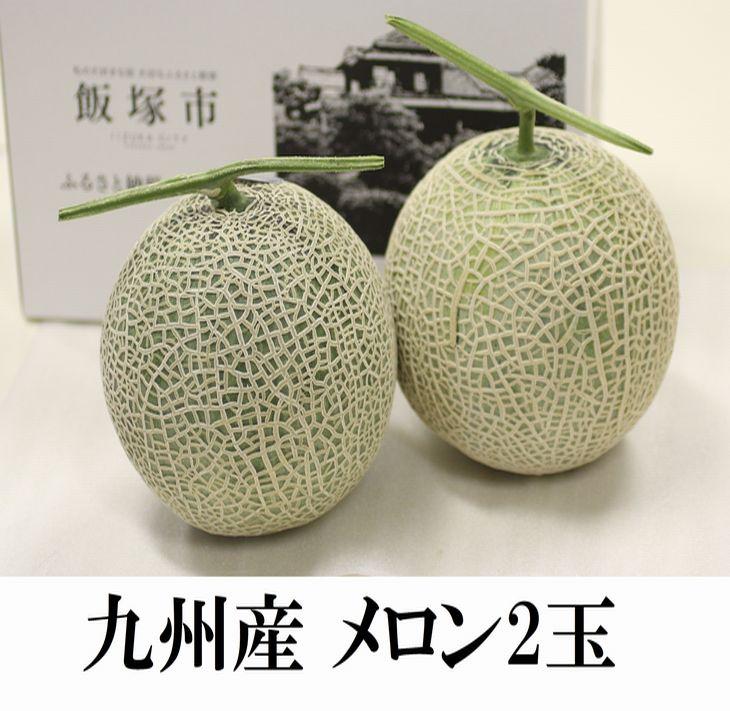 【ふるさと納税】【A7-009】九州産マスクメロン(温室・2玉)