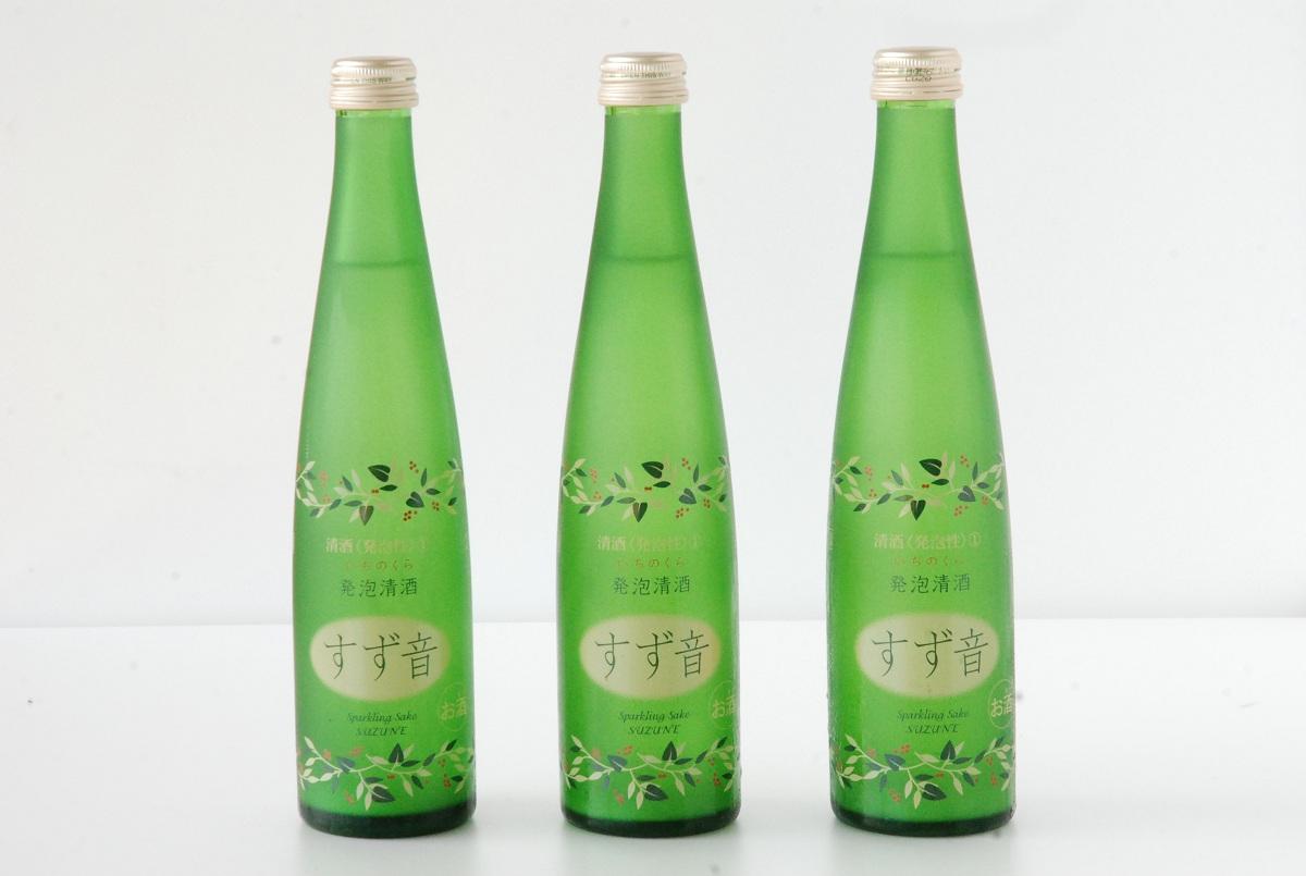 【ふるさと納税】スパークリング清酒 すず音 12本セット