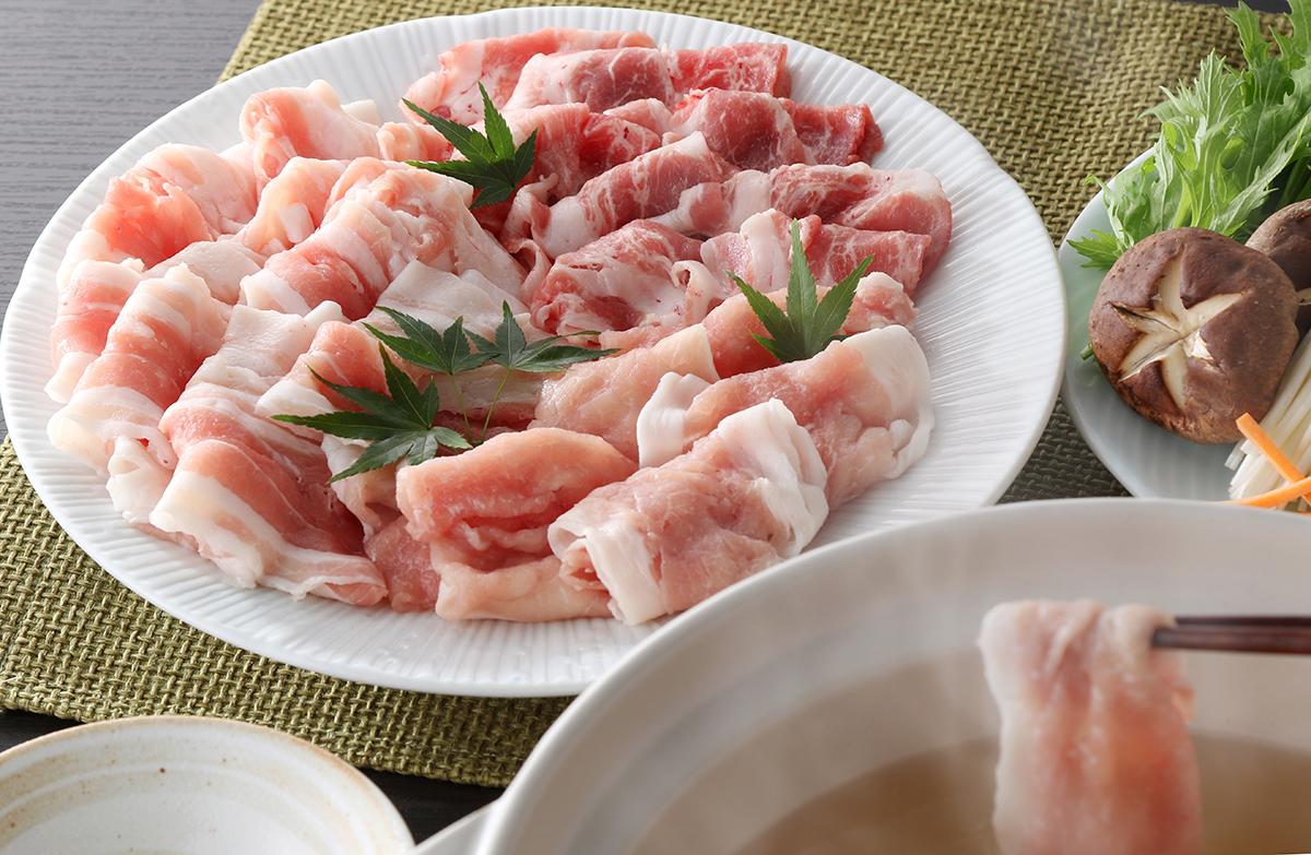 【ふるさと納税】九州産特選 豚肉しゃぶしゃぶ3点盛