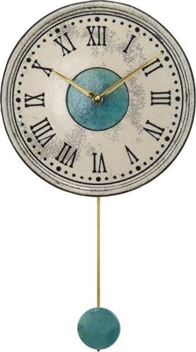 【ふるさと納税】ザッカレラZ121(飾り振子付掛時計)
