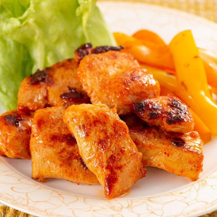 【ふるさと納税】明太子屋の自信作 銘柄鶏「華味鳥」の明太漬け 2kg