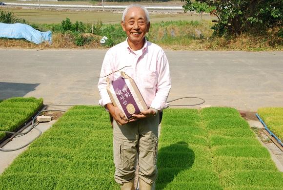 お米の味を測定した食味値が84点でおいしさ際だつ逸品です。 M1554_宗像の「にこまる」5kg(農薬・除草剤不使用)