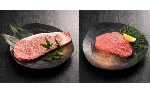 【ふるさと納税】KA0190_【A4/A5ランク】博多和牛ステーキセット(サーロイン200g×2枚、モモ150g×2枚)・ジャポネソース 牛肉 和牛 国産牛 送料無料 ステーキ