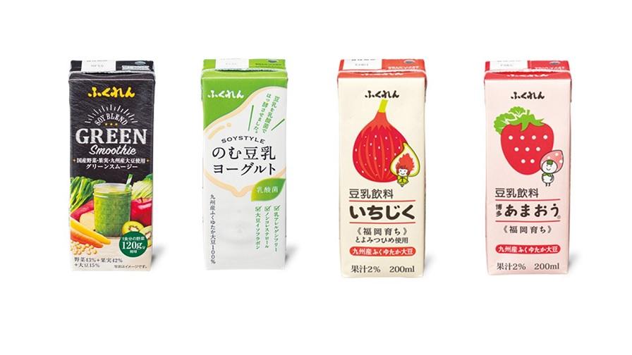 【ふるさと納税】A914 九州産大豆使用 豆乳3種+スムージー飲み比べセット