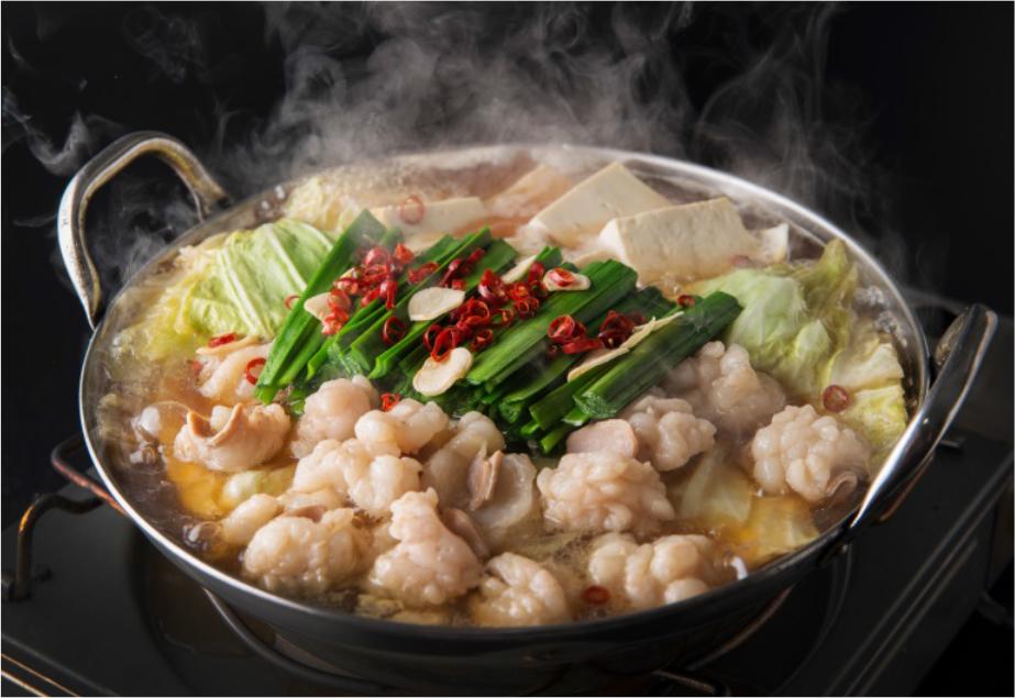 【ふるさと納税】M1005_ 博多もつ鍋 しょう油味(2~3人前)