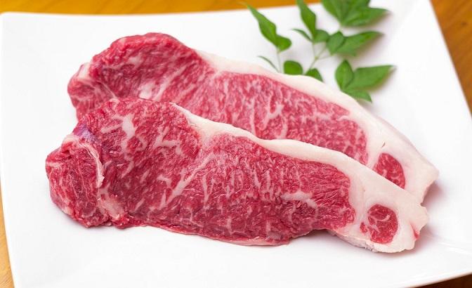 【ふるさと納税】KA0132_むなかた牛サーロインステーキ250g×2(牧場直送) 牛肉 和牛 国産牛 送料無料