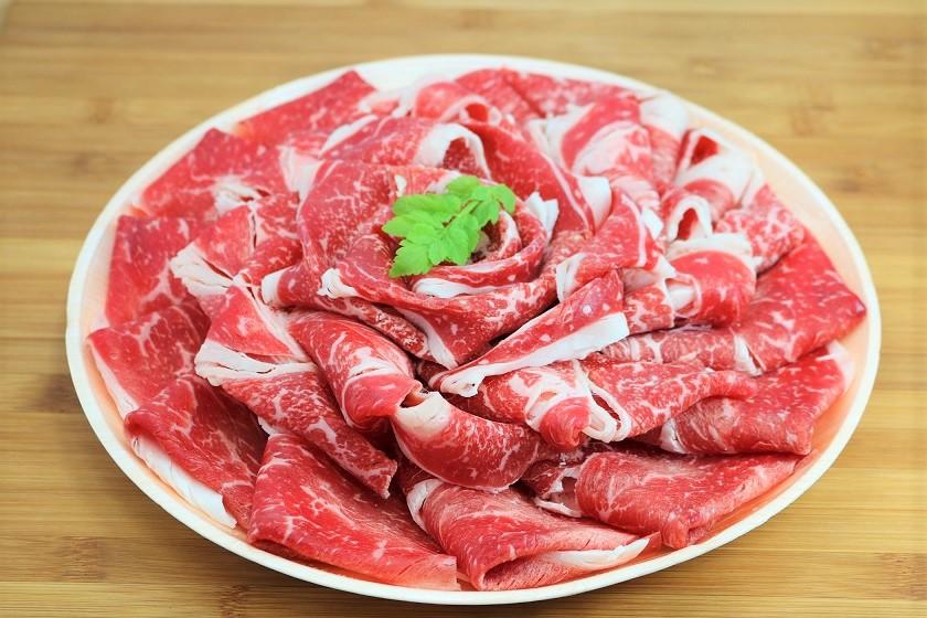 【ふるさと納税】KA0131_お米で育てたむなかた牛 二種類の華盛セット1kg(牧場直送) 牛肉 和牛 国産牛 送料無料