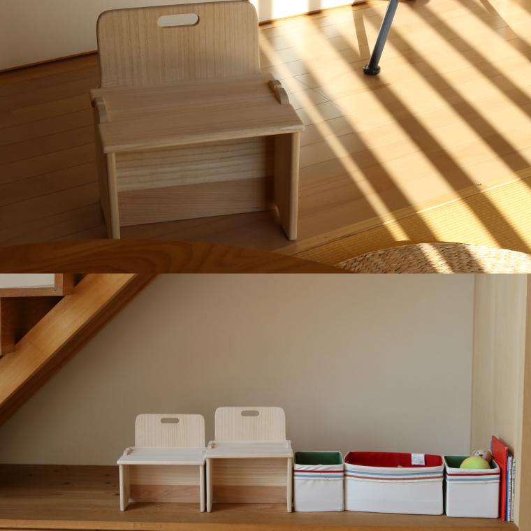 【ふるさと納税】子供用椅子<桐製> 木製 桐 プレゼント 贈り物 記念品 デスクチェア 学習チェア イス キッズ