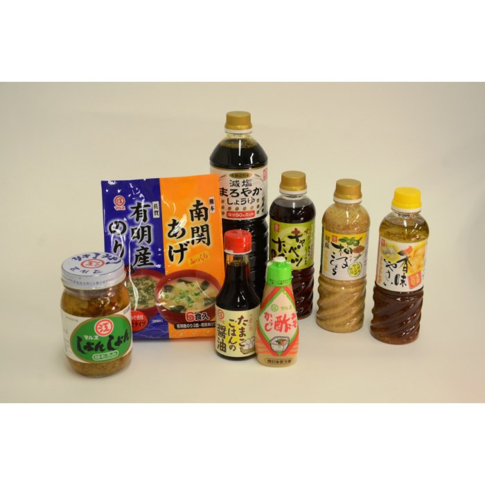【ふるさと納税】マルヱ醤油の調味料セット, クワナシ 62877f78