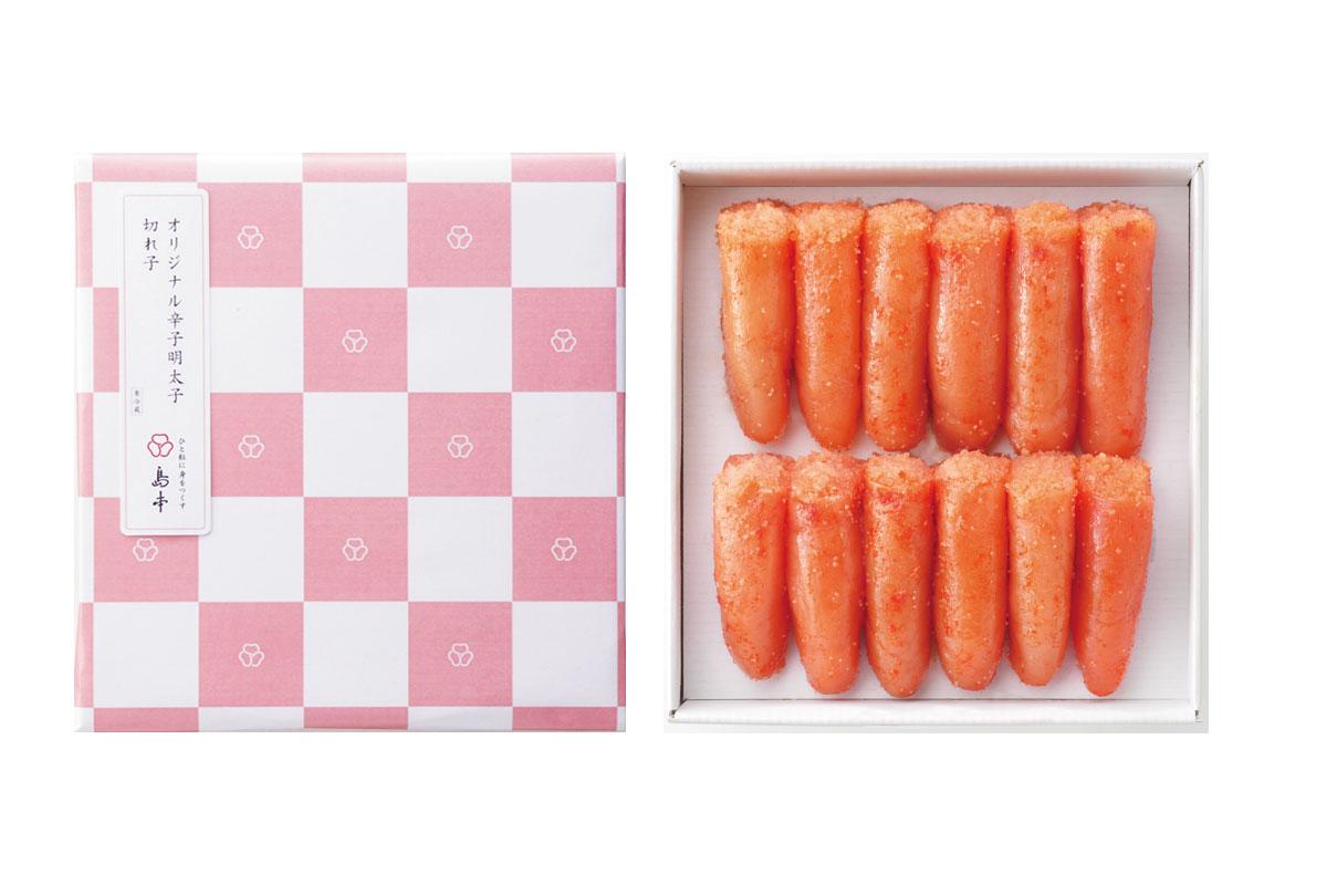 【ふるさと納税】AI02.オリジナル辛子明太子切れ子(箱入り包装)600g