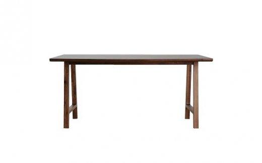 【ふるさと納税】Dテーブル アンコール Dテーブル150丸面RNブラウン 02-DE-1404r