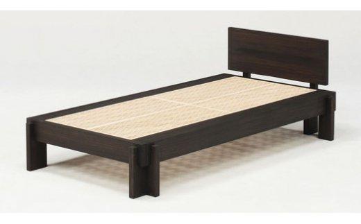 【ふるさと納税】桐組子ベッド「HASH BED(ハッシュベッド)」ヘッドあり CD-0802r