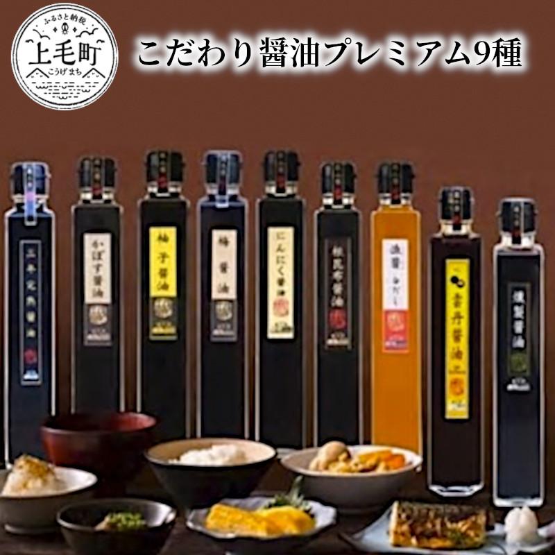 【ふるさと納税】TN0201【大平樂】こだわり醤油プレミアム9種