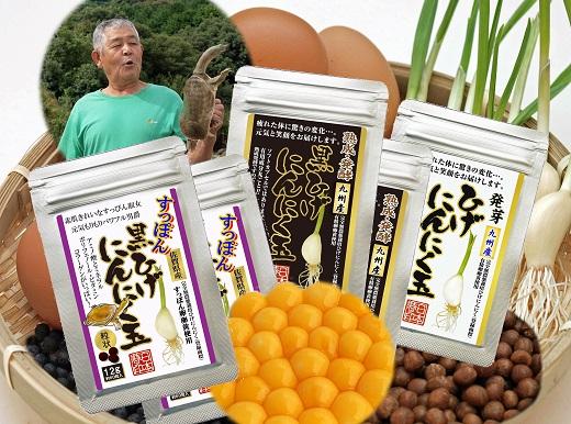 【ふるさと納税】F-024.佐賀の手作りひげにんにく卵黄5袋セット