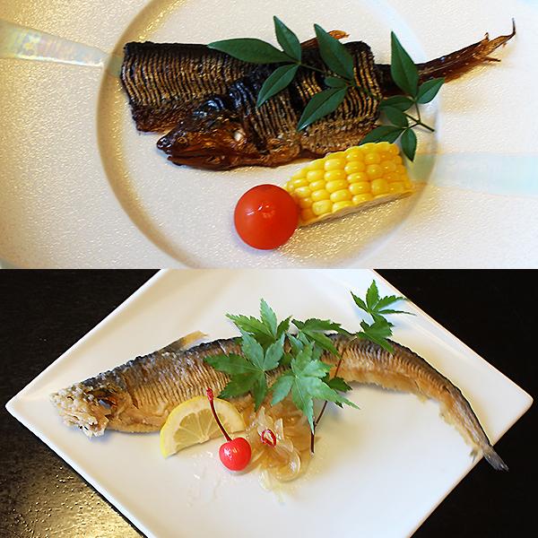 【ふるさと納税】C-264.【季節限定】幻の魚えつ甘露煮・南蛮漬セット
