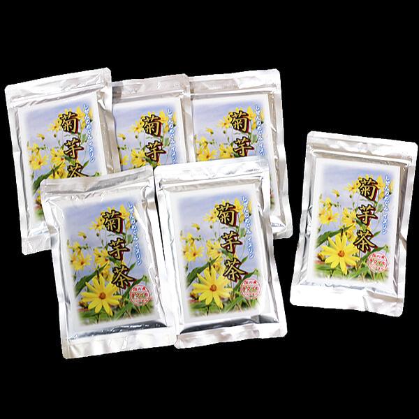 【ふるさと納税】E-121.菊芋茶100g×6袋