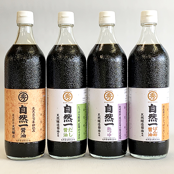 【ふるさと納税】D2-001.佐賀醤油の詰め合わせ(4種)