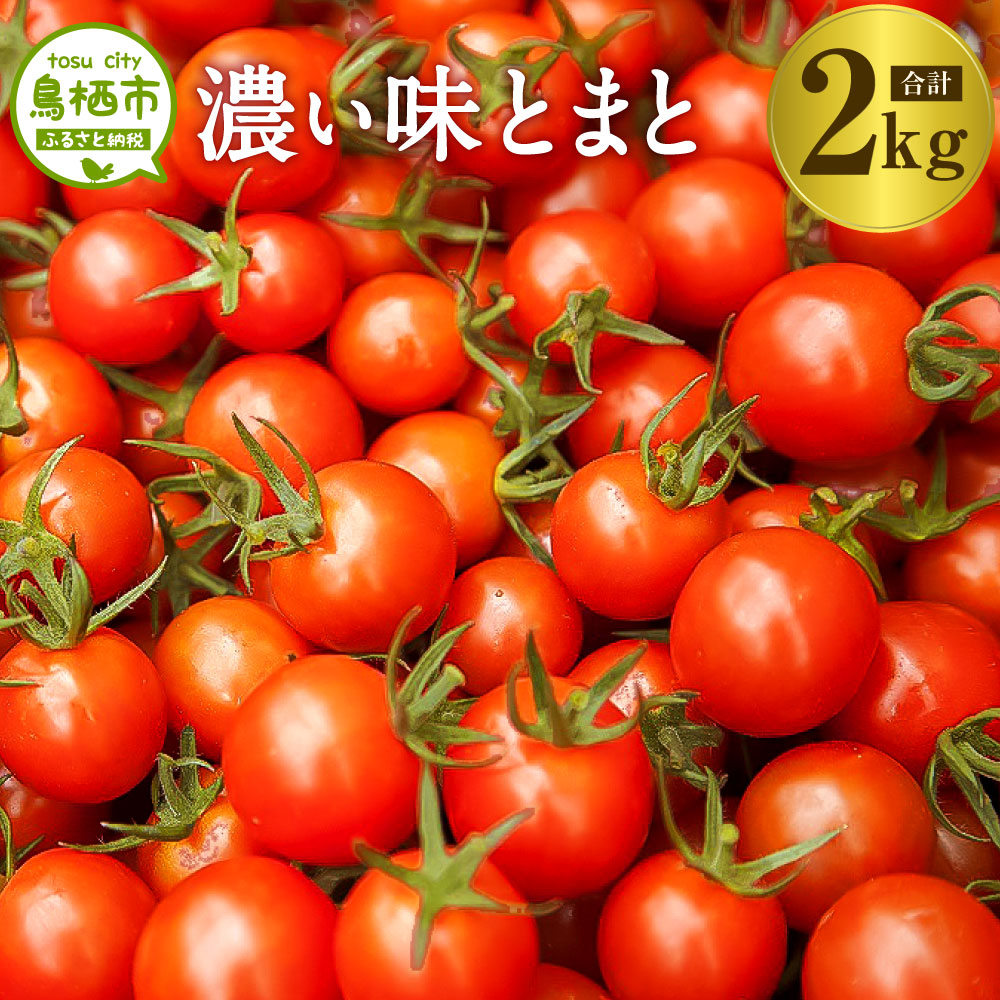 【ふるさと納税】10-87 佐賀県鳥栖産ミニトマト「濃い味とまと」2kg