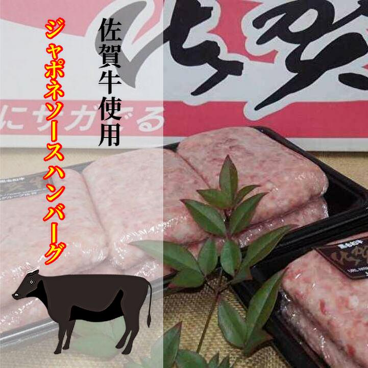 品質検査済 ふるさと納税 b-223 佐賀牛使用 大人気 ジャポネソースハンバーグ