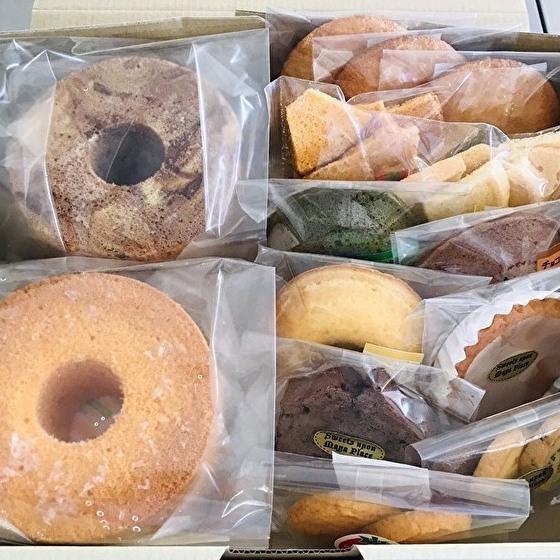 シフォンケーキやマドレーヌなどの人気焼き菓子セットです ふるさと納税 アウトレット☆送料無料 b-158人気の焼き菓子詰め合わせセット 春の新作続々