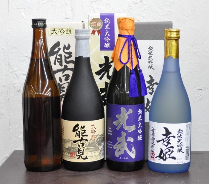 【ふるさと納税】F-11 鹿島うまか酒飲み比べ 純米大吟醸・大吟醸3本+おまかせ1本セット