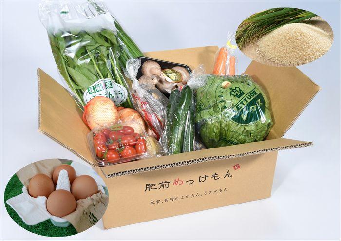 【ふるさと納税】E-61 【3ヶ月お届け】肥前の国の農産物大満足定期便