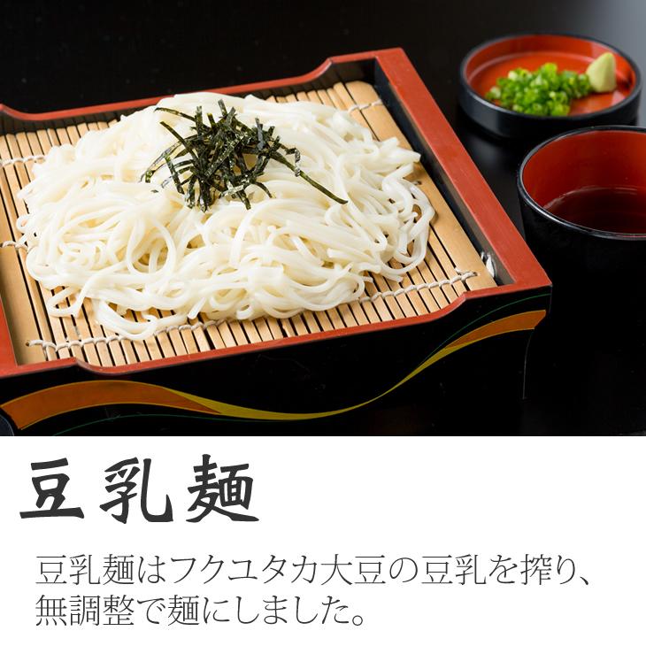 【ふるさと納税】豆乳麺と専用めんつゆセット