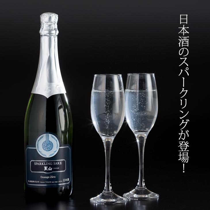【ふるさと納税】天山酒造 天山スパークリングSAKE (750ml) 日本酒