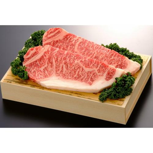 【ふるさと納税】佐賀産和牛ロースステーキ200g×2枚 (H040120)