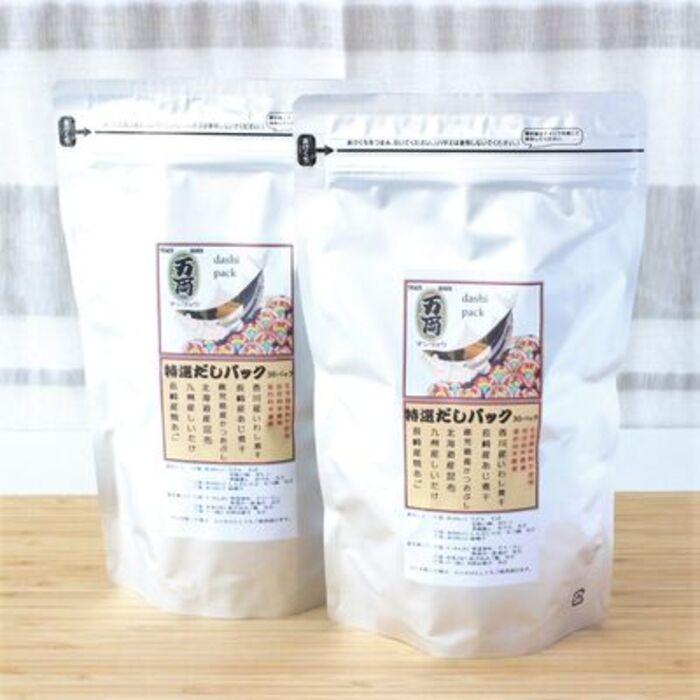 【ふるさと納税】万両特選だしパック(8g×30入)2袋(D-7) (H016108)