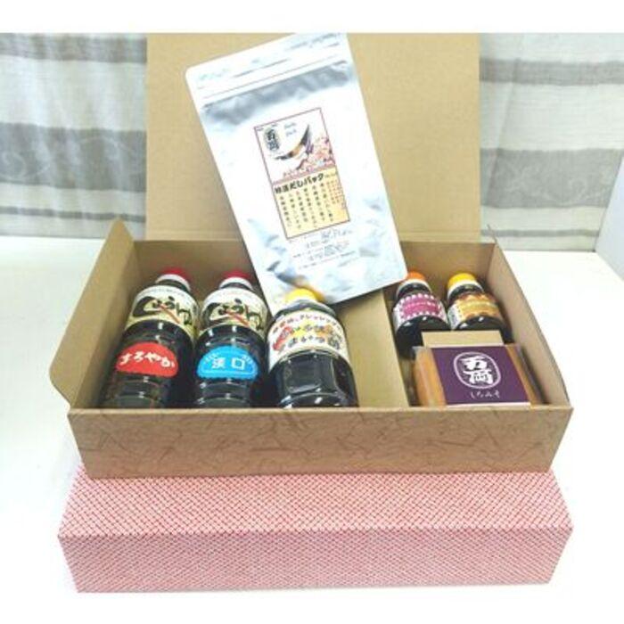 【ふるさと納税】万両醤油ギフト箱入り2箱(F-3) (H016111)