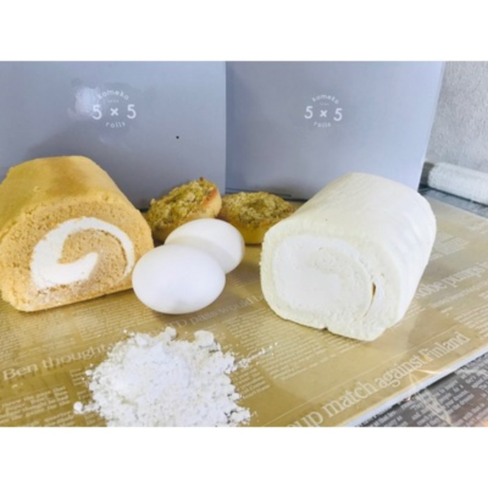 【ふるさと納税】『米粉ロールケーキ&ドーナツ』米粉スイーツセット (H053103)