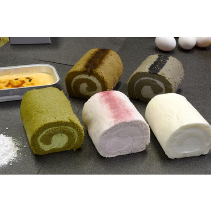 【ふるさと納税】『米粉ロールケーキ5種+クレマカタラーナ』米粉スイーツセット (H053105)