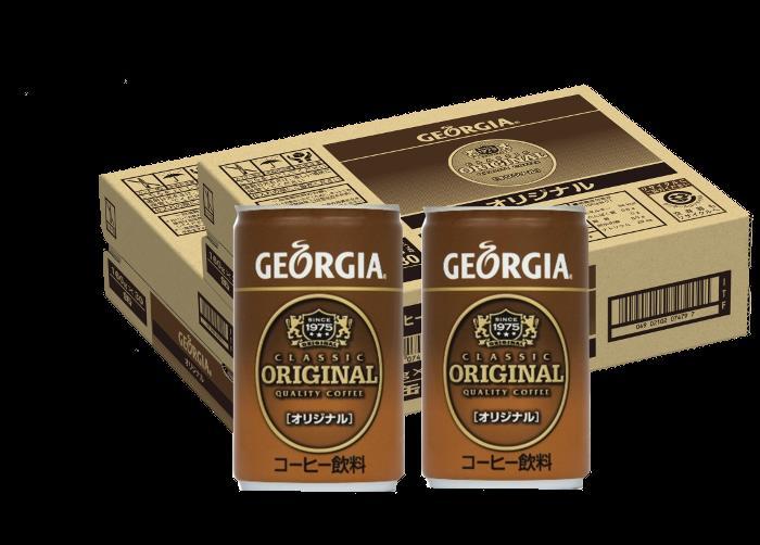 【ふるさと納税】A1-007 ジョージアオリジナル 160g缶【2ケース】