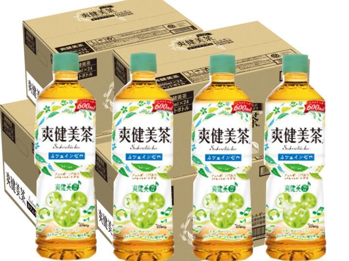 【ふるさと納税】B-046 爽健美茶600mlPET【4ケース】