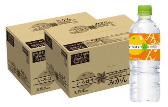 【ふるさと納税】A3-038R い・ろ・は・す みかん PET 555ml(2ケース)計48本